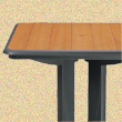 Dinetz sells table tops, table bases and custom built furniture